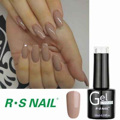 RS Nail Gel Nail Polish UV LED Soak Off One Step UV Gel Hybrid Gel Colour Nude