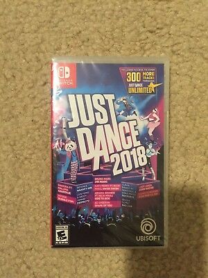 Just Dance 2018 (Nintendo Switch, 2017) NEW FACTORY SEALED FREE SHIPPING