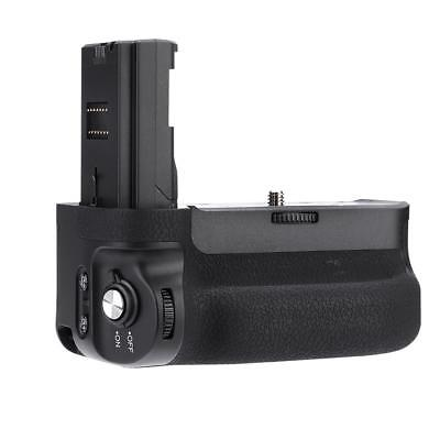 Meike MK-A9 Camera Vertical Battery Grip Holder Handle for Sony A9 A7R3 Cam UK