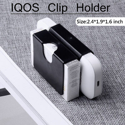 Portable Storage Case Protective Cover Clip Holder FOR IQOS 2.4 Plus Black