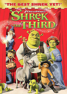 Shrek The Third (Full Screen Edition) DVD, Cameron Diaz, Justin Timberlake, Eddi