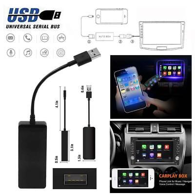12V USB Dongle for Apple iOS CarPlay Android 4.4 Car Navigation Player Black