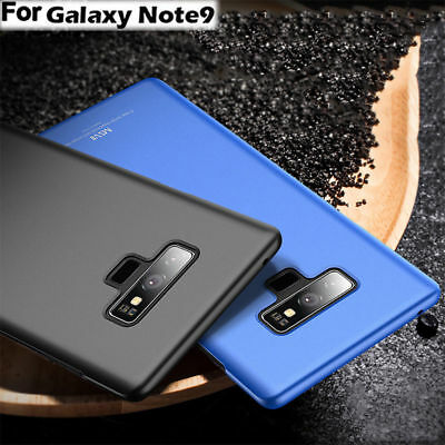 For Samsung Galaxy Note 9 Ultra Thin Luxury Shockproof Frosted Hard Case Cover
