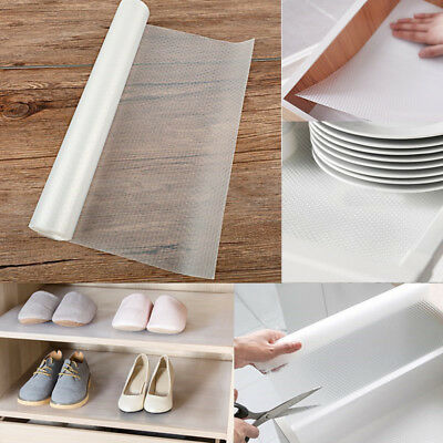 3 x Roll 150x30cm EVA Non-Slip Mat Kitchen Drawer/Cupboard/Shelf Liner Protector