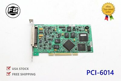 USA PCI-6014 Multifunction Analog Input PCI DAQ Card USED Test A Warranty