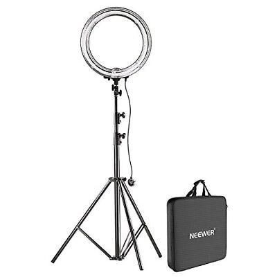 Neewer 18 Inches Ring Light With Stand Kit Dimmable LED SMD Ring New UK