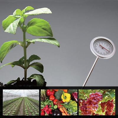 20'' 0-120℃ Composting Soil Thermometer Stainless Steel Metal Probe Detector.