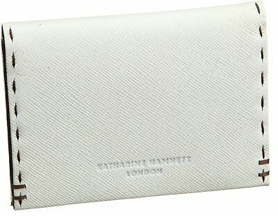 KATHARINE HAMNETT LONDON business card holder color tailored 490-51909 Wight F/S