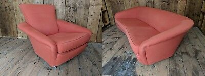 Modernist 1960s Sofa & Armchair With 30s References. Mid Century Modern gplanera