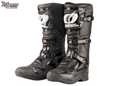 O'Neal RSX Schwarz Motocross Stiefel Enduro MX Cross Quad Boots