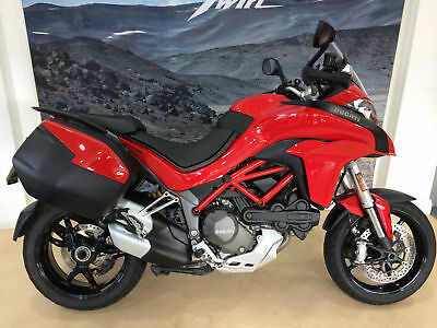 Ducati Multistrada 1200 abs with panniers,fsh,only 10012 miles,1 owner.