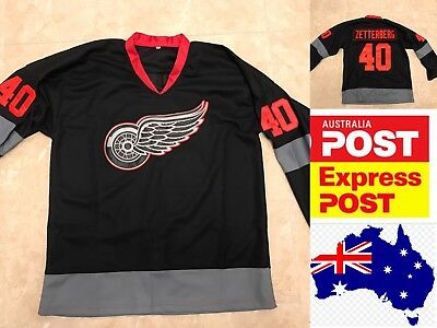 Ice Hockey Detroit Red Wings #40 ZETTERBERG Special Edition jersey