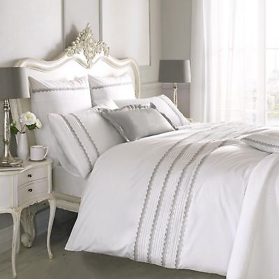 Holly Willoughby Antique French Lace, Single Bed Set, Duvet & pillowcase