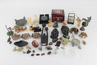 Job Lot of Vintage Decorative Ornaments Inc. Trinket Dishes, Wade, Wood, Animals