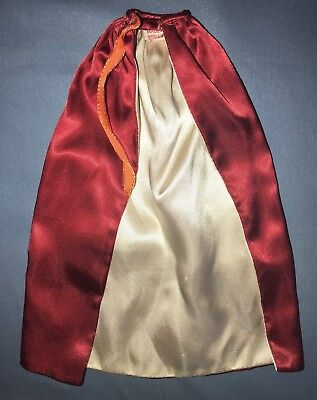 """Marx Miss Seventeen A Beauty Queen 18"""" Fashion Doll Red White Satin Robe Cape"""