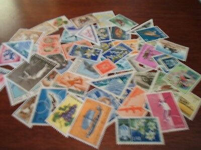 Collection lot 50 different stamps of San Marino