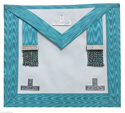 Masonic Regalia Craft Worshipful Mason WM Apron past master(Lambskin)