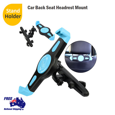 "Car Seat Mount Holder Headrest Mount 7""to 10""For iPad 4 3 2 Air Tablet New"