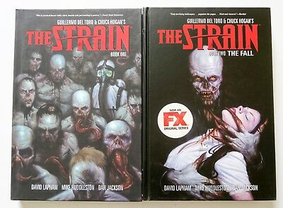The Strain Book One & Two Hardcover Dark Horse Graphic Novel Comic Book