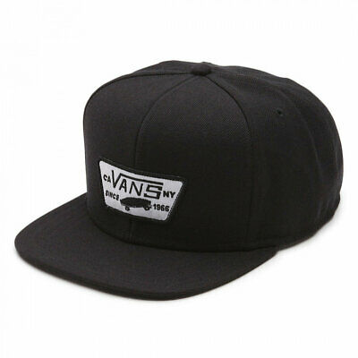 ac593c16ba794 VANS FULL PATCH snapback true black cappellino new skate surf snow ...