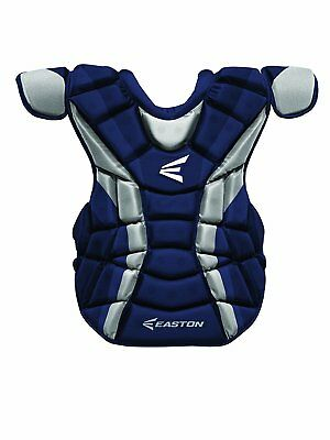 Easton Force Adult baseball catchers equipment gear chest  protector Navy