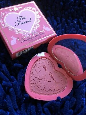 TOO FACED Love Flush Long Lasting 16 Hour Blush HOW DEEP IS YOUR LOVE? Free Ship