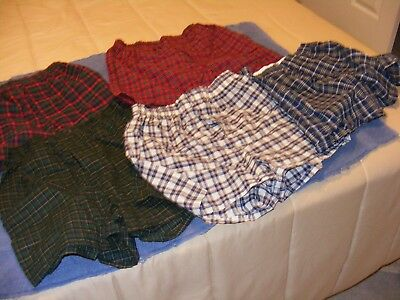 Fruit of the Loom Big Boys' Tartan Boxer, Assorted, Large (Pack of 5)