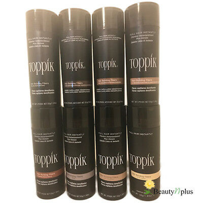 Toppik Hair Building Fibers 1.94 oz / 55g GIANT (Choose from 8 Colors)