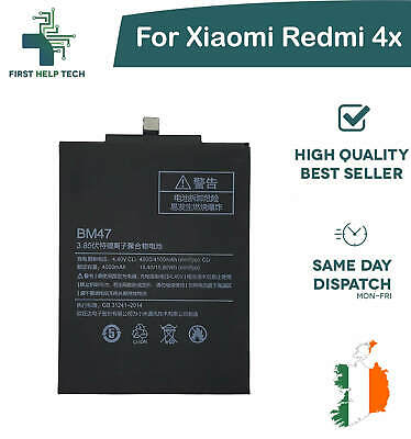 For Xiaomi Redmi 4x - Genuine Replacement Battery 4100mAh 3.85V BM47 New