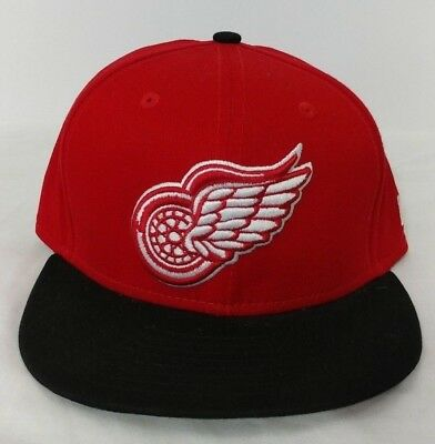 hot sale online 42d74 a90c6 Detroit Red Wings New Era 9Fifty Adjustable Hat Vintage Hockey Tag - Used