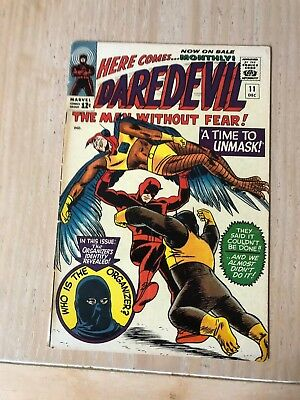 Daredevil 11 - 1965 Marvel - 2nd part of a classic Stan Lee tale