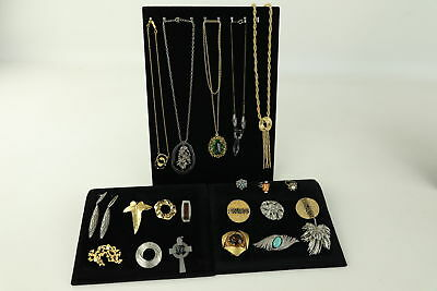 20 VINTAGE MID CENTURY MODERNIST JEWELLERY inc. Brooches, Earrings, Necklaces