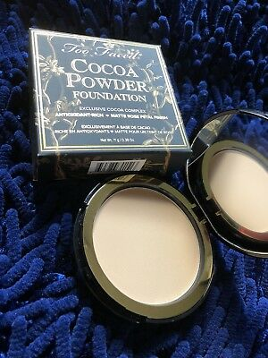 Too Faced Cocoa Powder Foundation *GOLDEN LIGHT* 0.38oz 11g FULL SIZE FREE SHIP