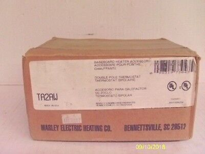 Marley Electric Baseboard heater, TA2AW, Double pole thermostat