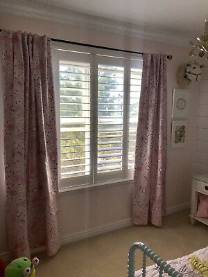 Pbkids 84 Inch Curtain Panels and Crib Sheet