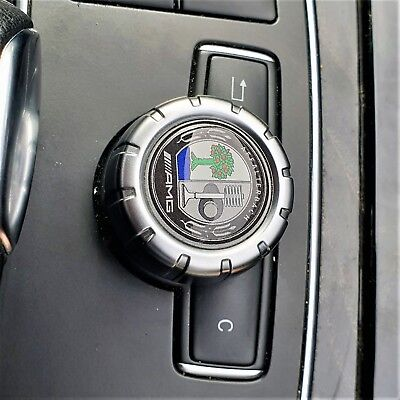 AMG Affalterbach Badge Mercedes Multimedia Control Knob Emblem COLOUR Sticker