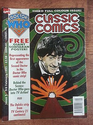 Doctor Who Magazine Classic Comics Issue 3 Dwm Tv Century 21 The Daleks
