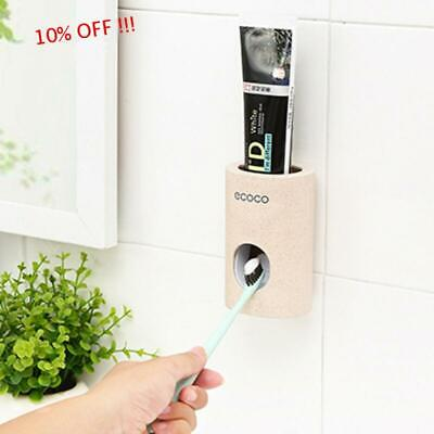 Device Automatic Toothpaste Squeezer Dispenser Toothbrush Holder Extrusion