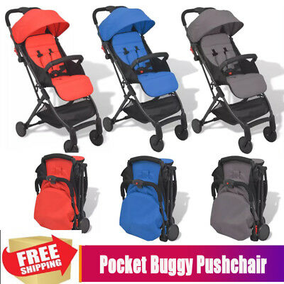 Lightweight Folding Pocket Buggy Stroller Pushchair Toddler Travel Baby Carrier