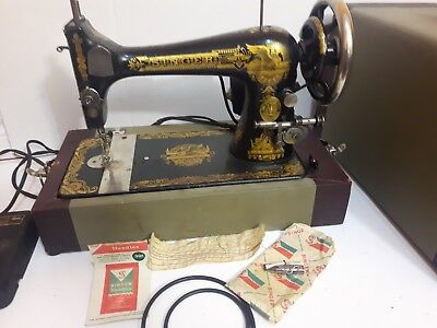 Antique Singer Sewing Machine Sphinx Design 1909