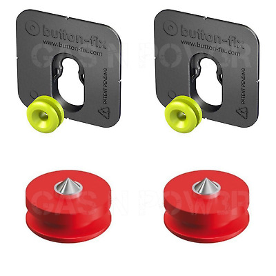 20x Button Fix Type 1 Bonded Bracket Marker Guide Kit Connecting Parallel Panels