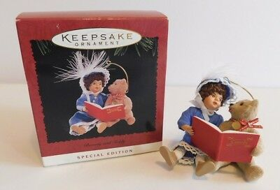 Hallmark Keepsake Ornament 1995 Beverly and Teddy * Songbook ** FREE SHIPPING **
