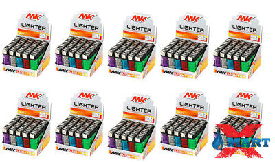500 MK Classic Full Size Cigarette Lighter Disposable Lighters Wholesale Lot