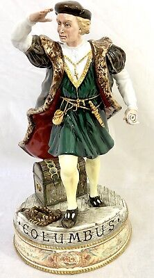 """Royal Doulton """"CHRISTOPHER COLUMBUS"""" Figurine. HN3392.  Number 117 out of 1492"""
