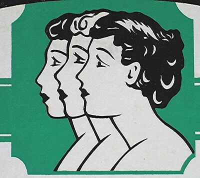Vintage Art Deco Advertising Sign -- Sorority Hand Lotion Counter Display