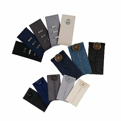 Comfy Pants Bundle - 13 Pant Waist Extenders (3 Types) for Dress Pants, Khaki...