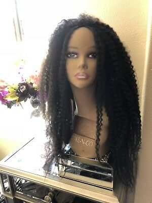 Costume Culture Mens Curly Rocker Wig Deluxe