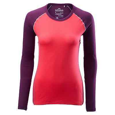 Kathmandu Flinders Women's Merino Wool Hiking Walking Thermal Top