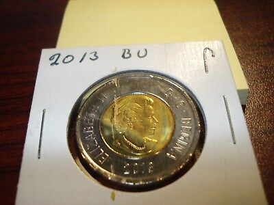Error - 2013 - Canada - Brilliant Uncirculated $2 - Canadian two dollar toonie