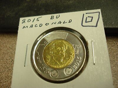 2015 - Canada - Brilliant Uncirculated $2 - Canadian two dollar coin toonie